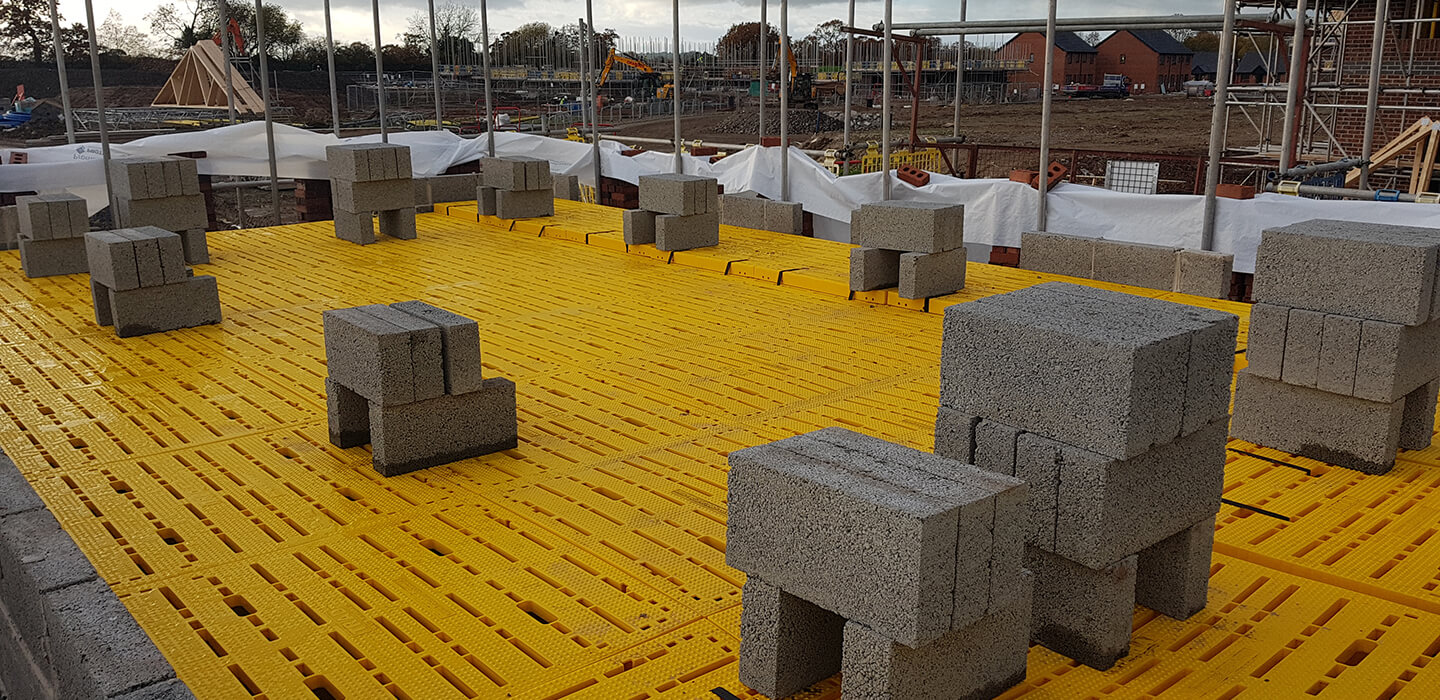 Safety Decking for the Construction industry